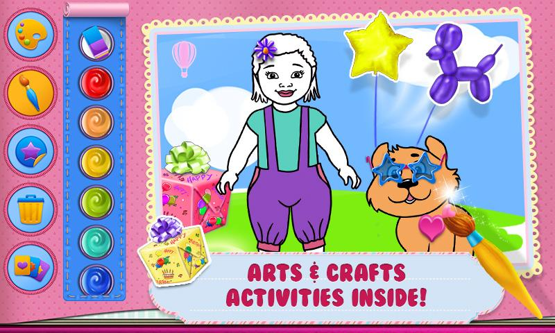 Android Baby Arts & Crafts Screen 1
