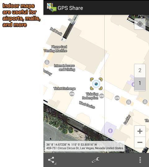 GPS Share 2.2 Screen 4