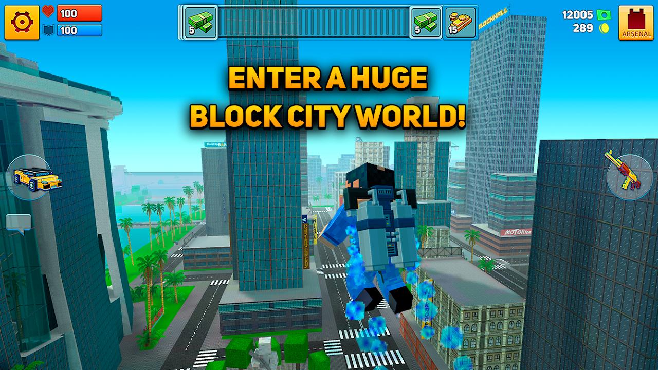 Block City Wars + skins export 7.1.4 Screen 4