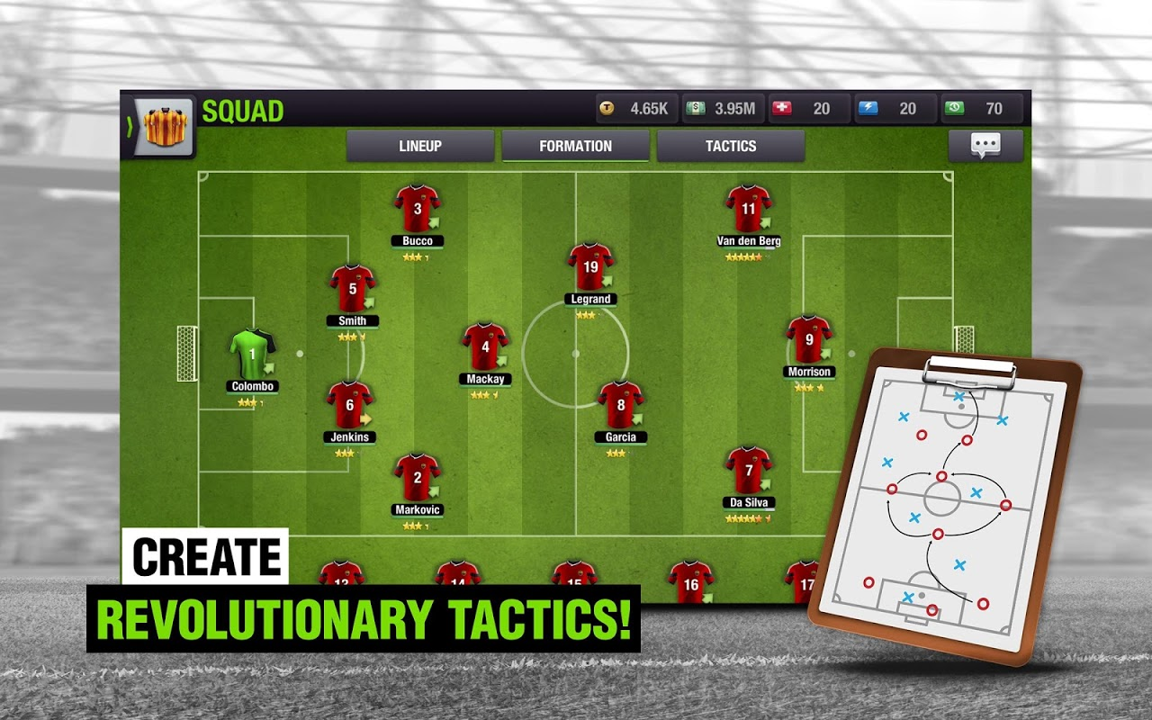 Android Top Eleven 2018 - Be a Football Manager Screen 8