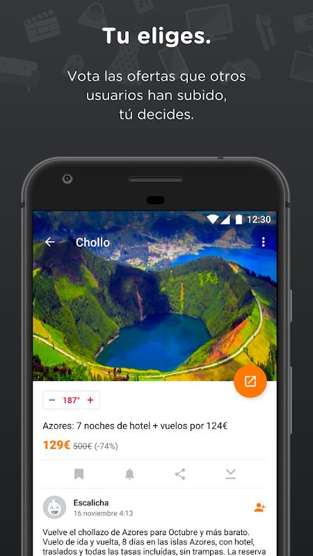 Chollometro – Chollos, ofertas y juegos gratis 5.7.07 Screen 1