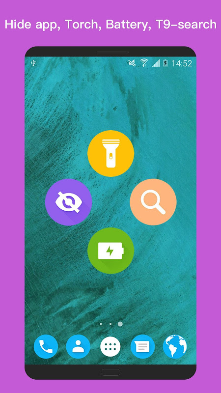 Android O+ launcher - O Oreo Launcher for Android™ O 8.0 Screen 5