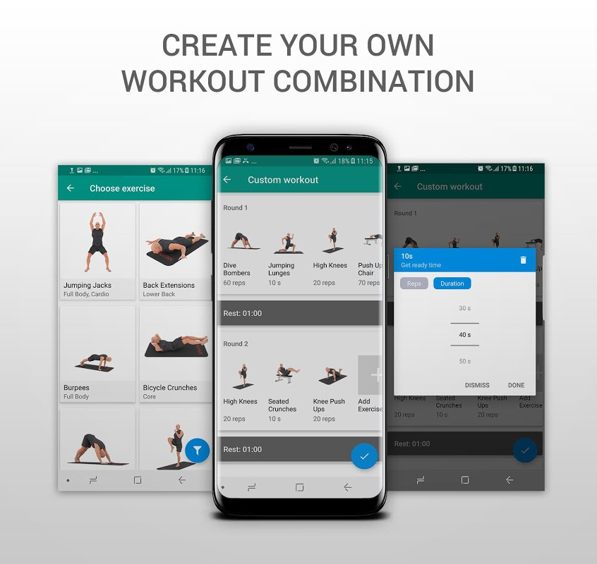 Android 7 Minute Workouts PRO - 99% DISCOUNT Screen 2
