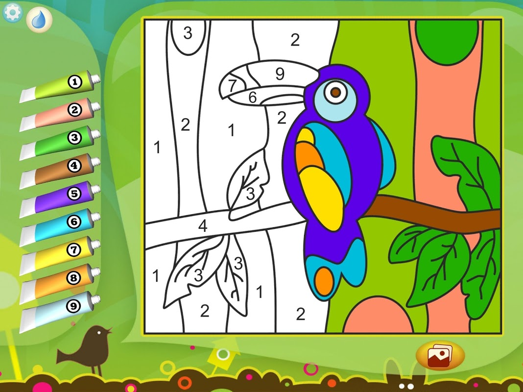 Android Paint by Numbers - Animals Screen 6