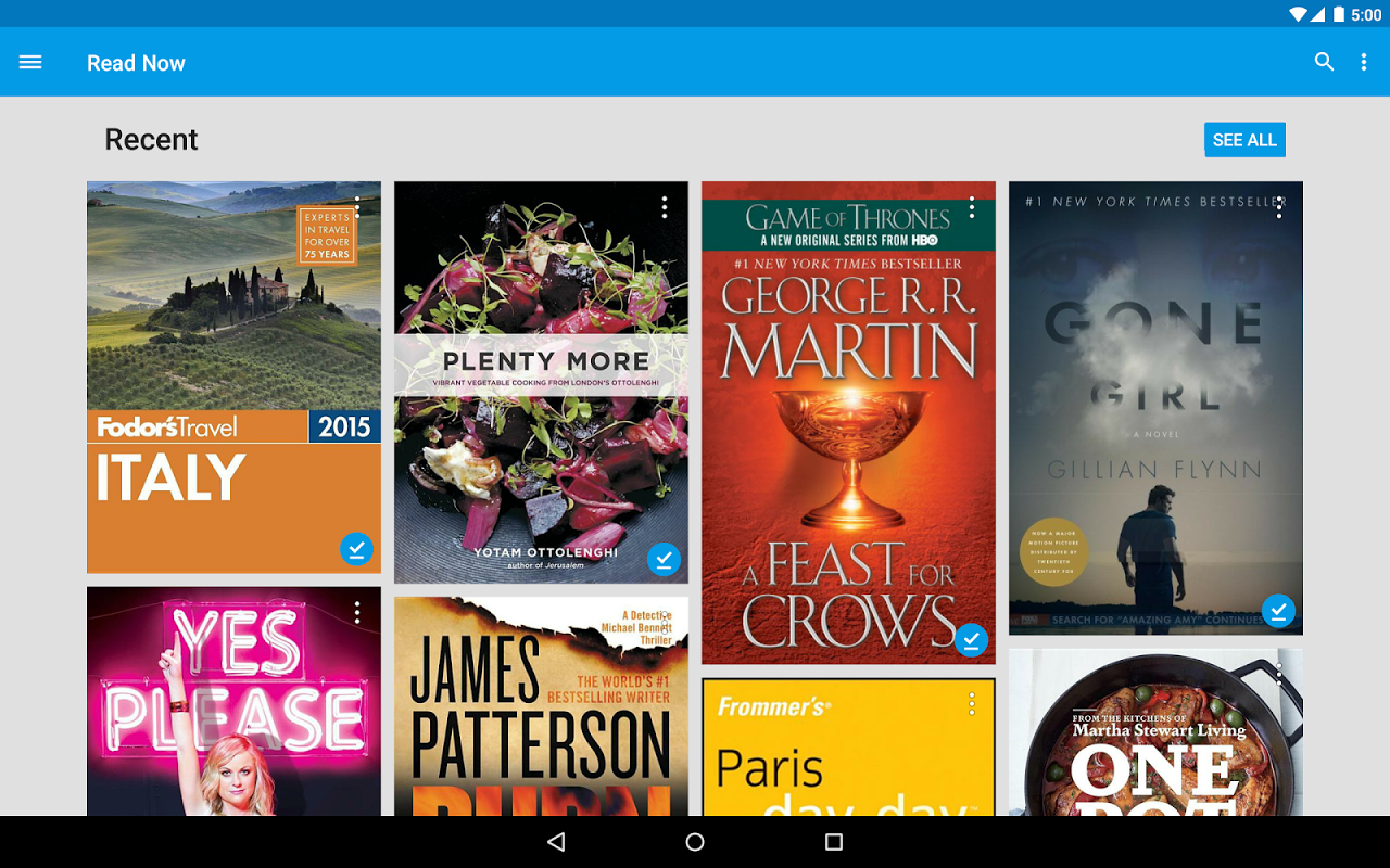 Android Google Play Books Screen 5