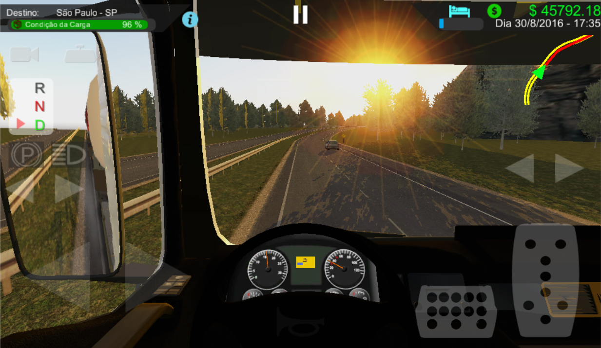 Android Heavy Truck Simulator Screen 1