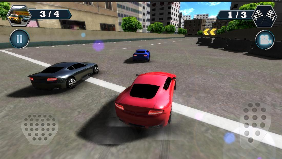 Android Car Racing Screen 4