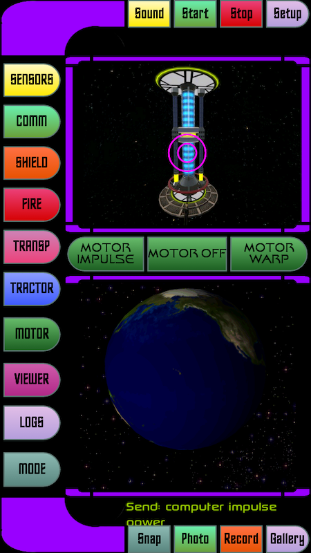 Android Star Fleet Trycorder Screen 6