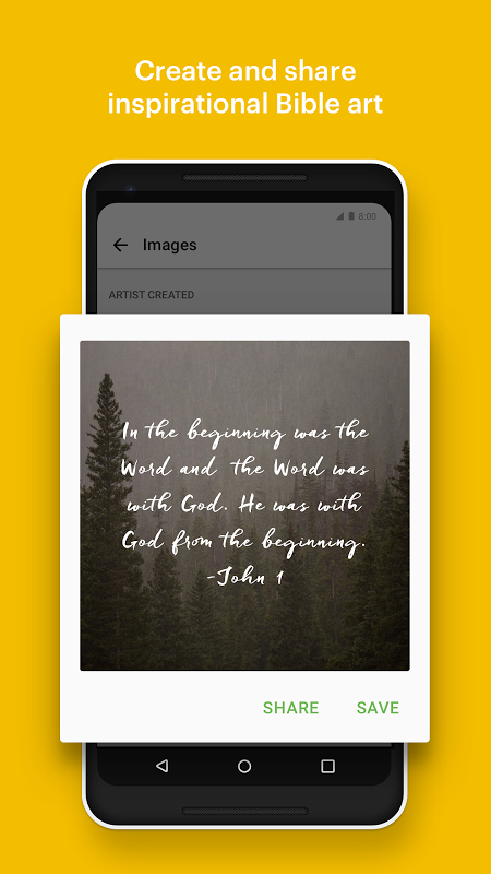 Android Bible: Daily Verse, Audio Bibles and Devotionals Screen 3