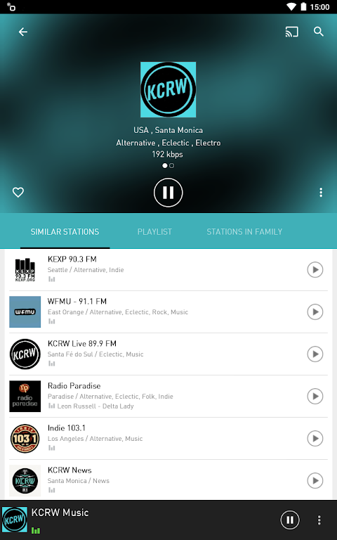 Android radio.net - Tune in to more than 30,000 stations Screen 9