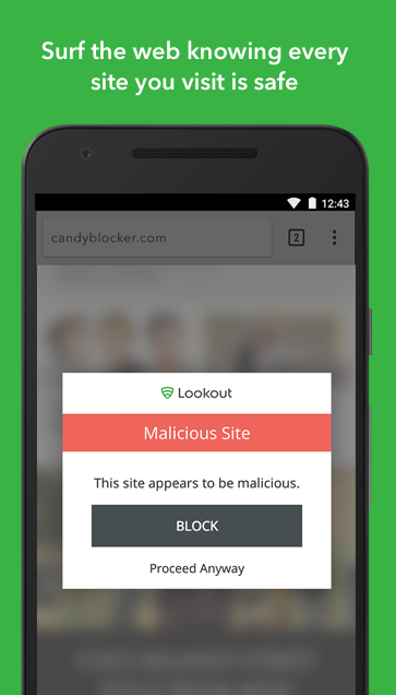 Android Lookout Security & Antivirus Screen 3