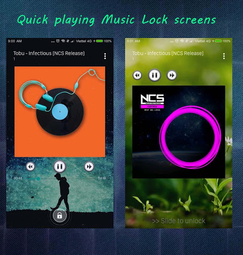 Android S+ Music Player 3D - Premium Screen 3