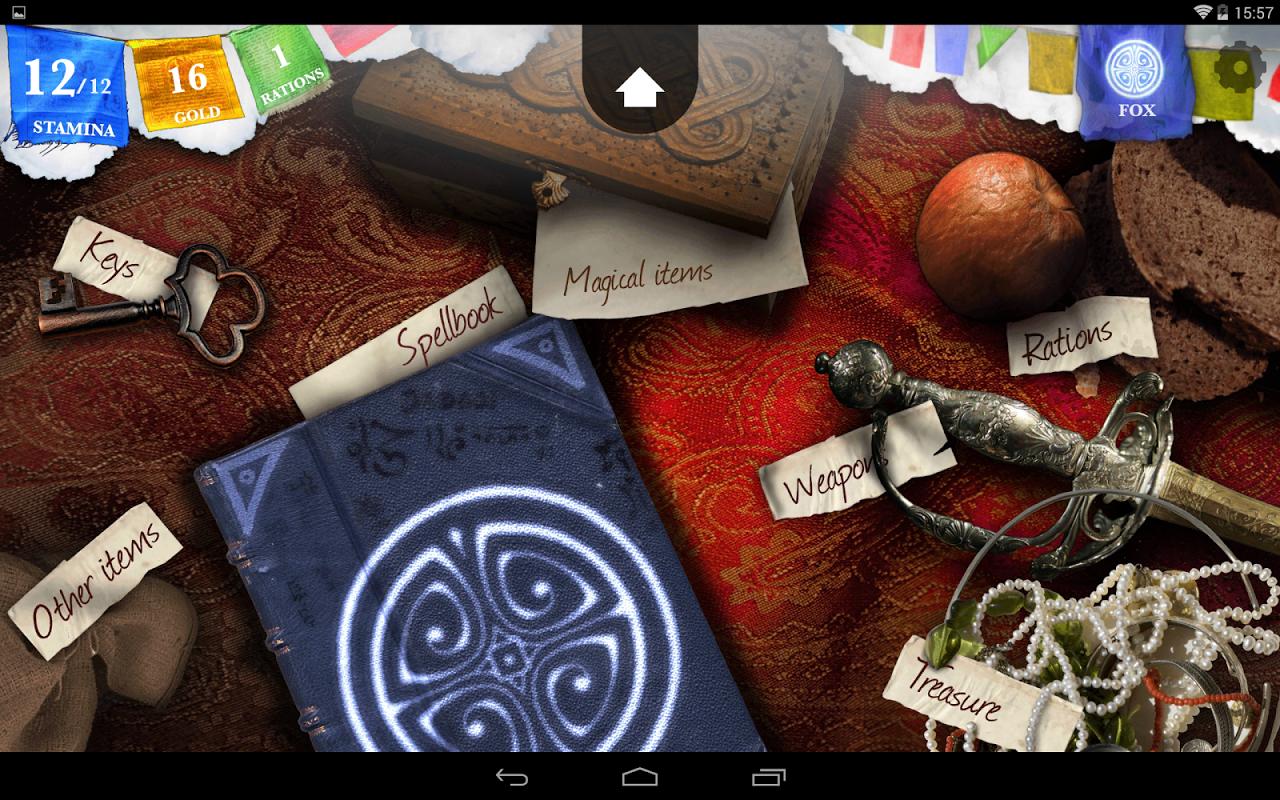 Sorcery! 1.4.6 Screen 1