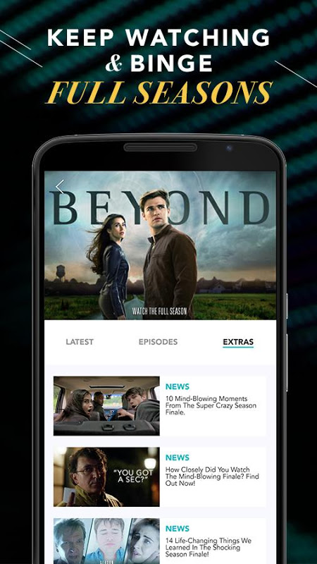 Android Freeform – TV & Full Episodes Screen 1