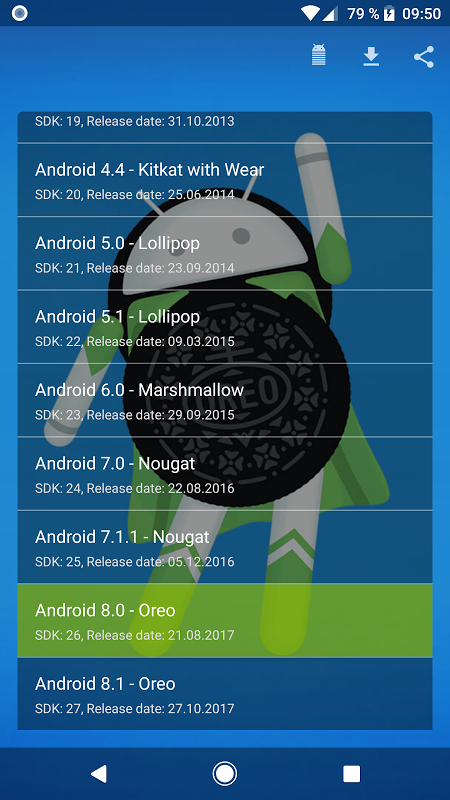 Version for Play Store v1.7.0 Screen 7