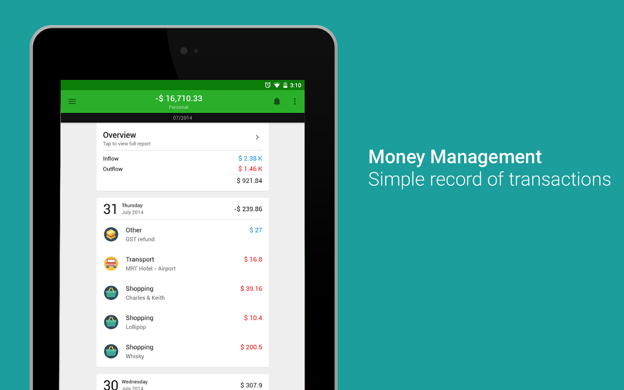 Android Money Lover - Money Manager Screen 16