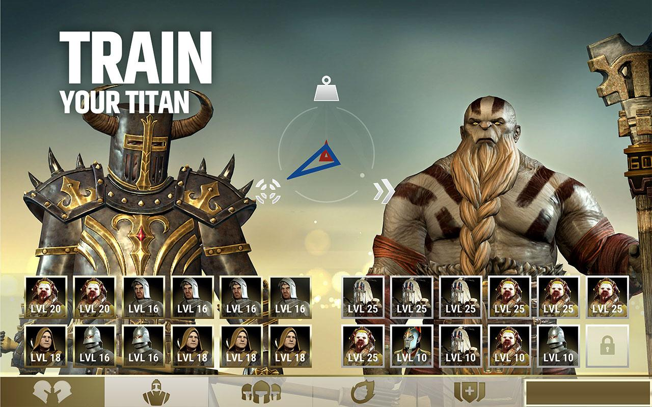 Android Dawn of Titans - Epic War Strategy Game Screen 1