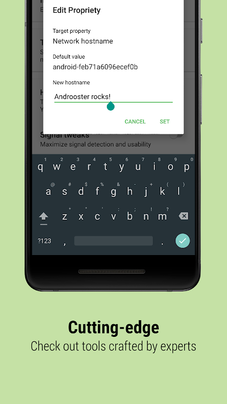 Androoster 1.3.11 Screen 4
