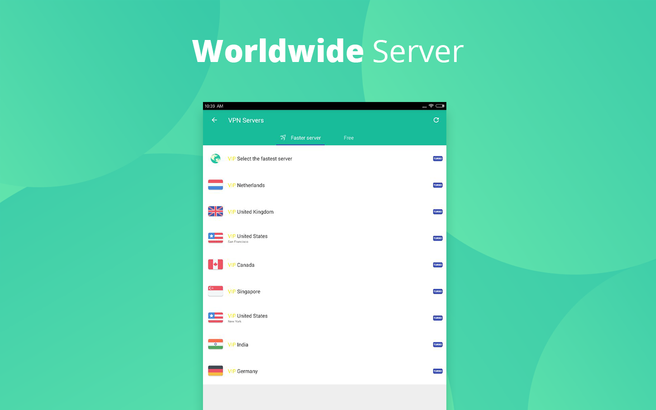 VPN Master-Free·unblock·proxy 6.3.5 Screen 2