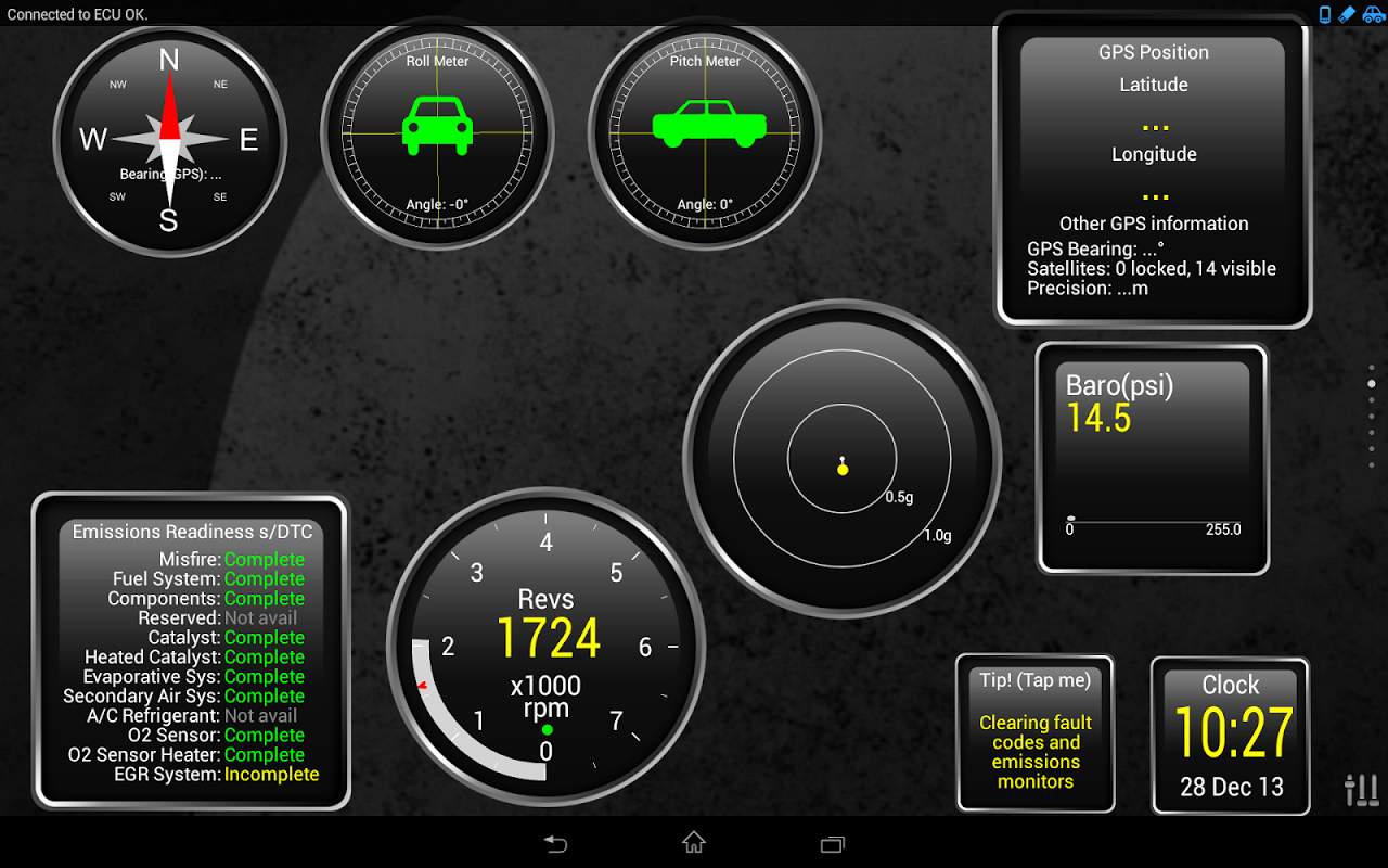 Android Torque Pro (OBD 2 & Car) Screen 12