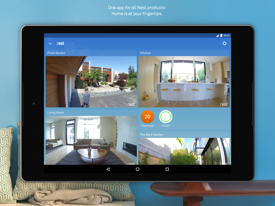 Nest 5.8.0.27 Screen 4