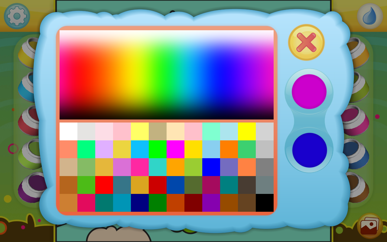Android Paint by Numbers - Animals Screen 3