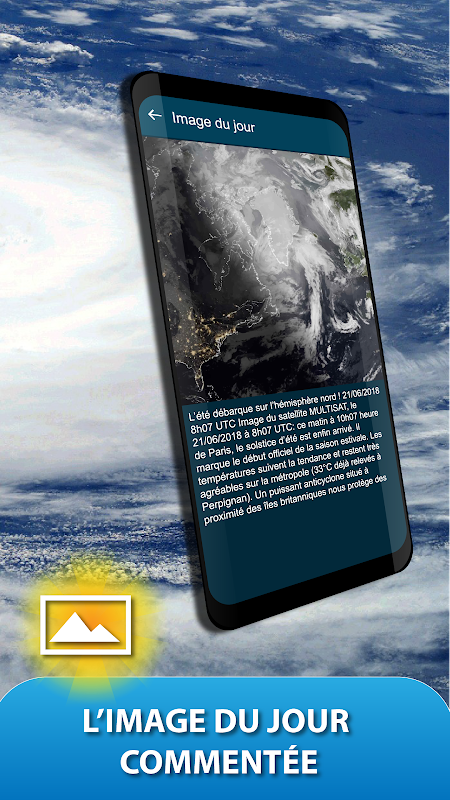 Android METEO FRANCE Screen 5