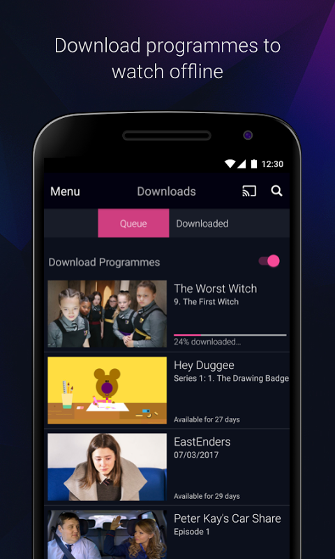 BBC iPlayer 4.38.0.3 Screen 5