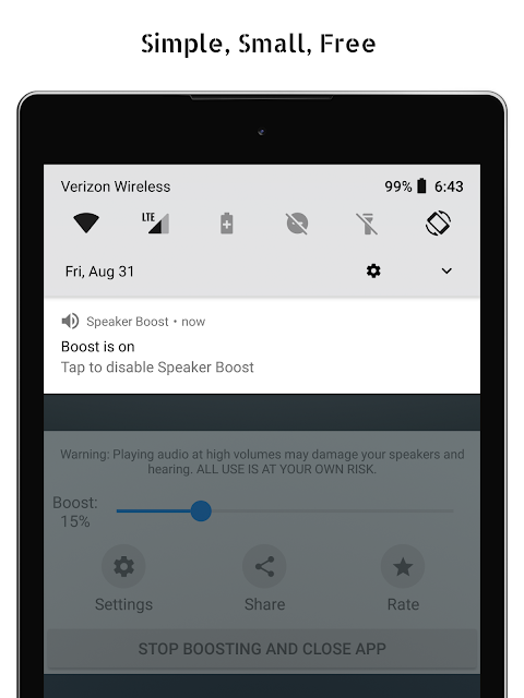Speaker Boost - Volume Booster 3.0.11 Screen 4