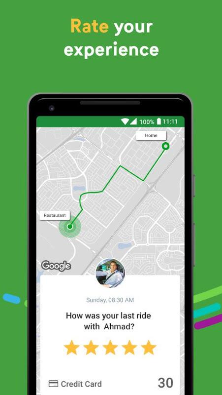 Android Careem - Car Booking App Screen 6