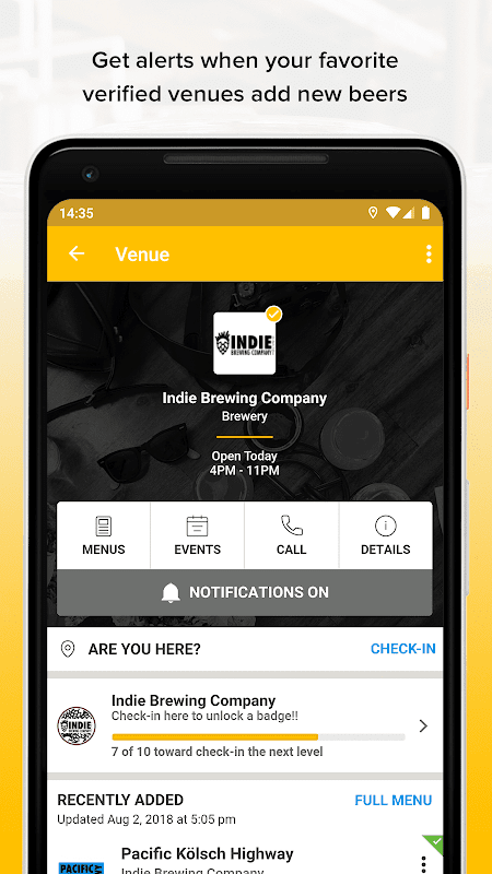 Untappd - Discover Beer 3.3.7 Screen 2