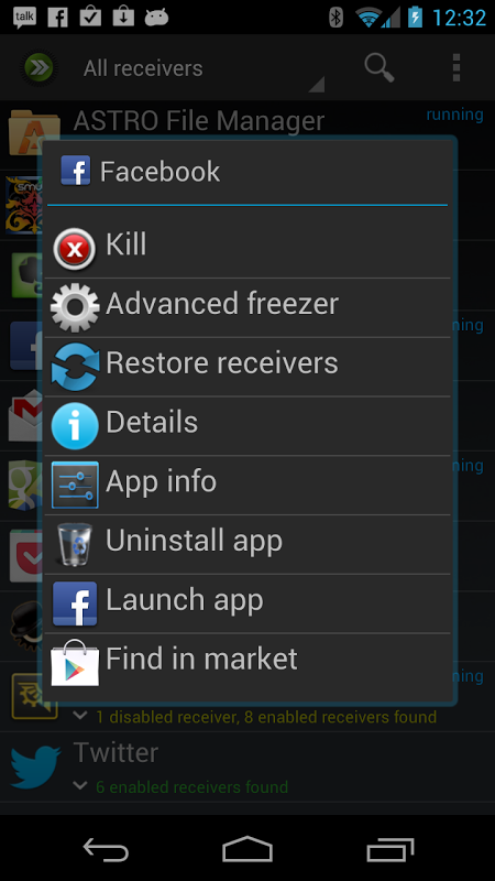 Android ROM Toolbox Pro Screen 1