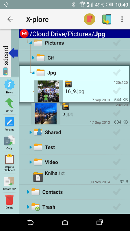 X-plore File Manager 3.91.03 Screen 10