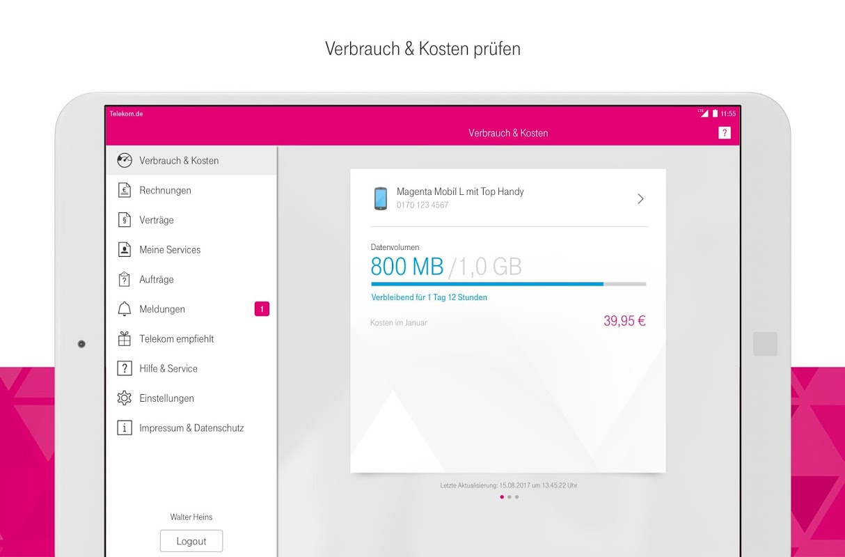 Android MagentaSERVICE Screen 14