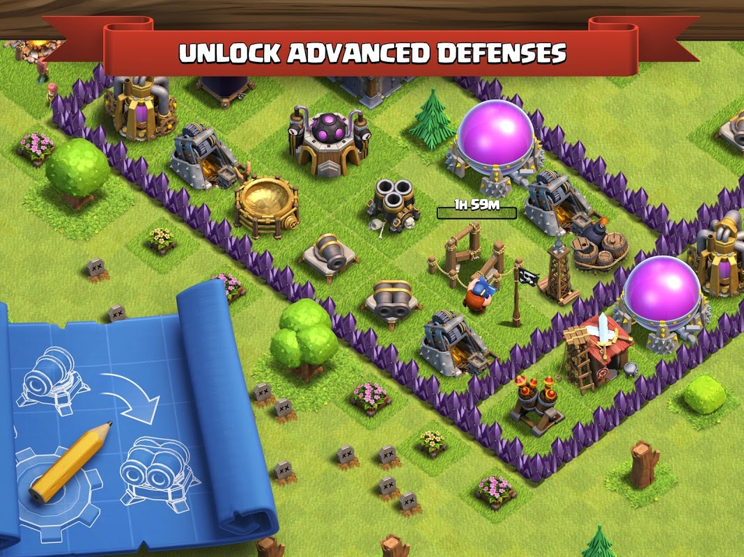 Clash of Clans 11.185.14 Screen 3