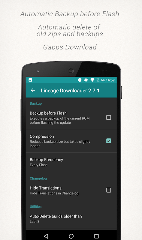 Lineage Downloader 3.3.2 Screen 4