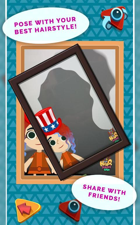Android Kids Hair Salon Saga – KinToons Screen 5