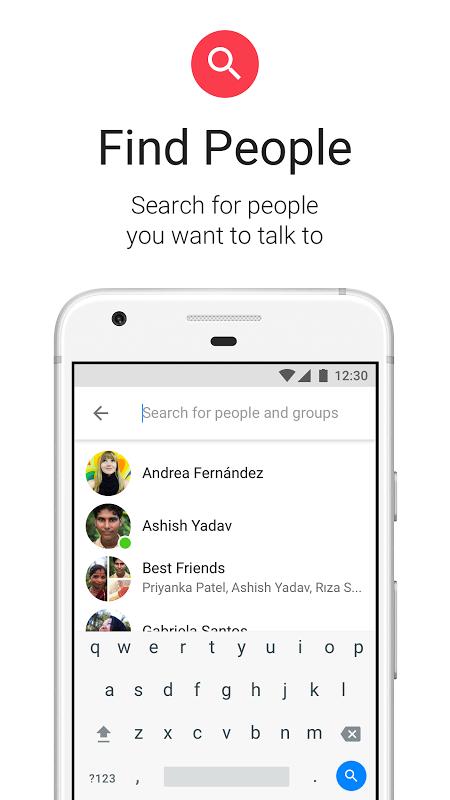 Messenger Lite 20.0.0.7.270 Screen 5