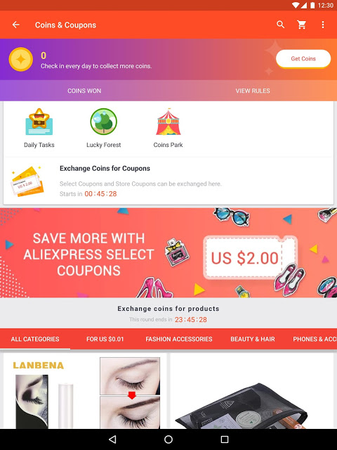 AliExpress Shopping App- $100 Coupons For New User 6.22.1-playgo Screen 1