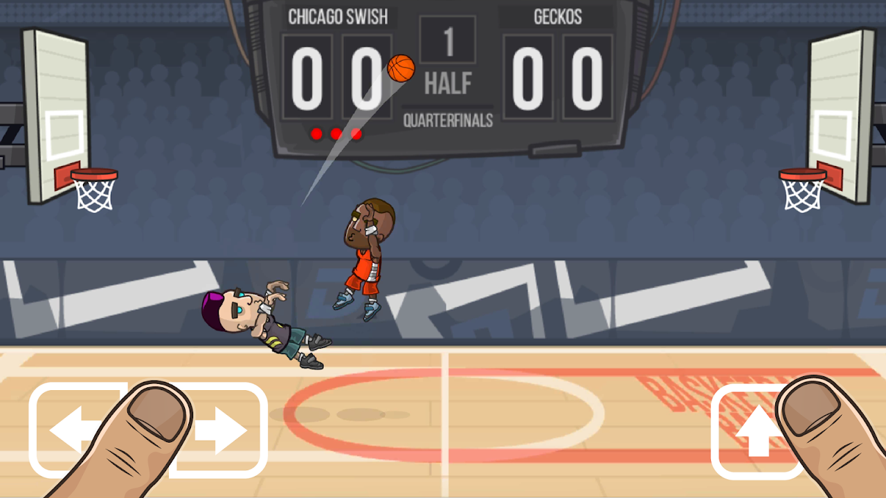 Android Basketball Battle Screen 4