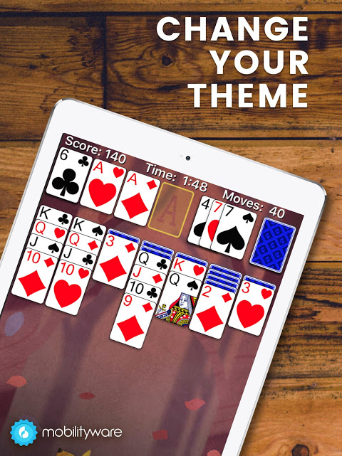 Solitaire 6.4.1.3381 Screen 1