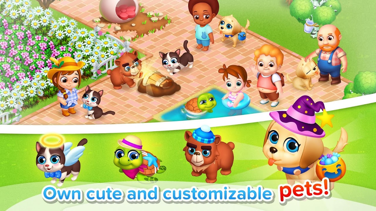 Android Family Farm Seaside Screen 2