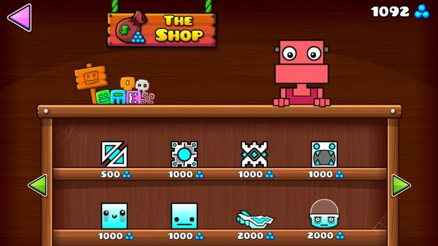 Geometry Dash World 1.03 Screen 2