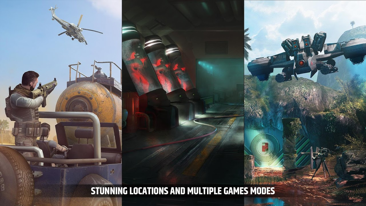 Android Cover Fire: shooting games Screen 5