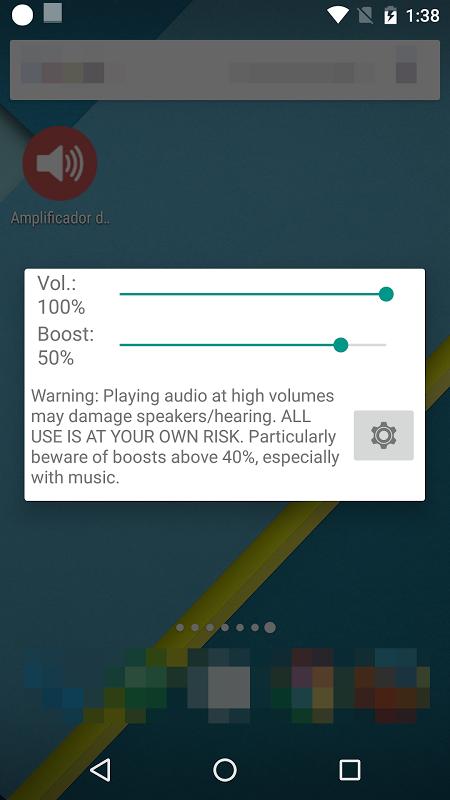 Android Amplificador de Volumen GOODEV Screen 1