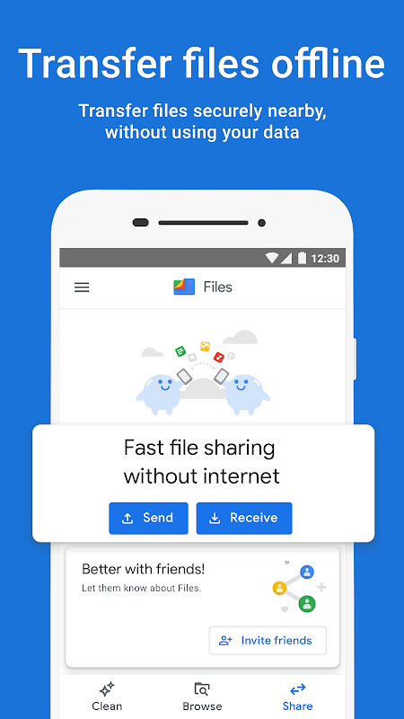 Files by Google: Clean up space on your phone 1.0.224103129 Screen 3