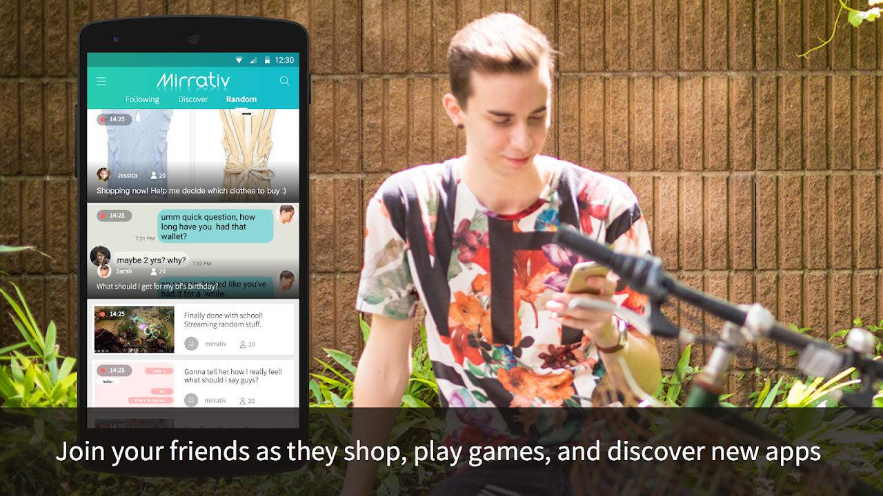 Mirrativ: Live Stream Any App 8.5.1 Screen 1