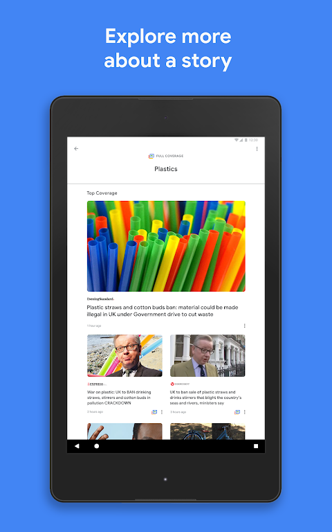 Android Google Play Newsstand Screen 6