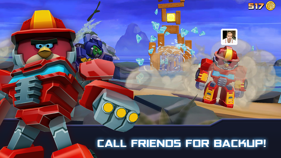 Angry Birds Transformers 1.35.8 Screen 3