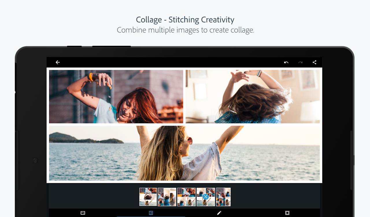 Adobe Photoshop Express:Photo Editor Collage Maker 5.8.561 Screen 13
